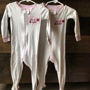 Twin Girl Matching Sleepers